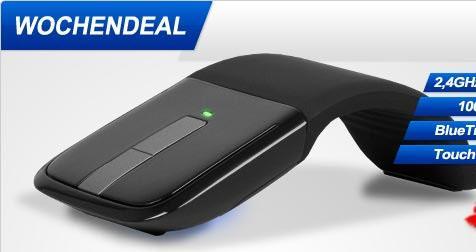 Microsoft Arc Touch Mouse BlueTrack Funk 1000 dpi