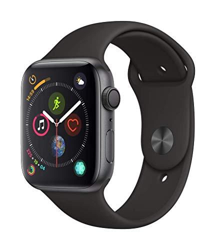 Apple Watch Series 4 GPS 44mm Aluminium spacegrau mit Sportarmband für 395,27€ inkl. Versandkosten