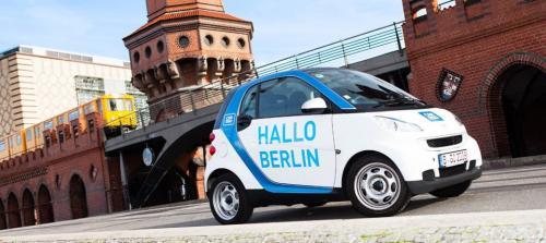 Kostenlose Anmeldung bei Car2Go Berlin