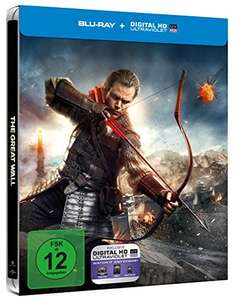 The Great Wall - Blu-ray Limited Steelbook für 7,65€ (Amazon Prime)