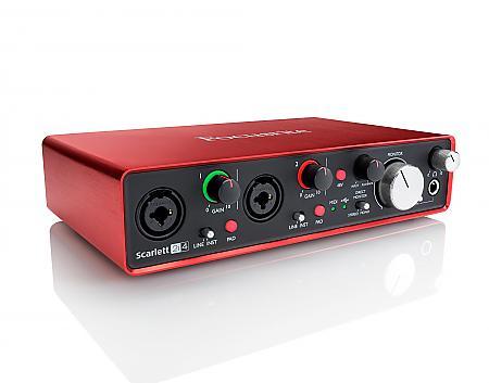 Focusrite Scarlett 2i4 (2nd Gen) - USB Audio-Interface - spare über 50 €!!