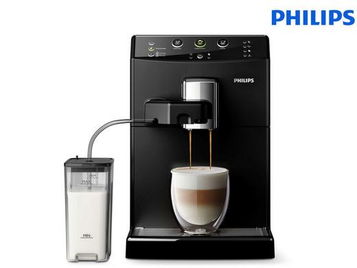 """Philips Kaffeevollautomat EasyCappuccino """"HD8830/10"""" (Milchaufschäumer, AromaPlus Funktion, Keramikmahlwerk) [iBOOD]"""
