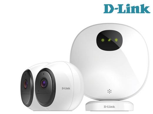"""D-Link mydlink Pro Sicherheitssystem """"DCS 2802KT"""" (FHD mit Nachtsicht, kabellos, akkubetrieben, WLAN, IP65)  [iBOOD]"""
