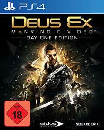 Deus Ex: Mankind Divided - Day One Edition PS4 expert Dinslaken