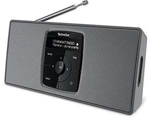 TechniSat DIGITRADIO 2 S – Tragbares DAB+/UKW-Stereo-Radio mit Bluetooth Audiostreaming
