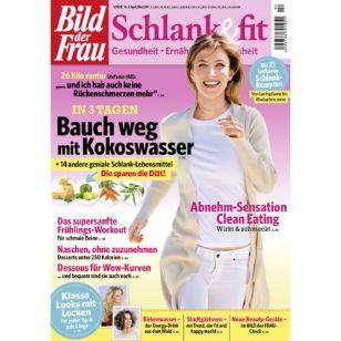 Jahresabo BILD der Frau Schlank & fit für 12,30€ + 5€ DM-Gutschein