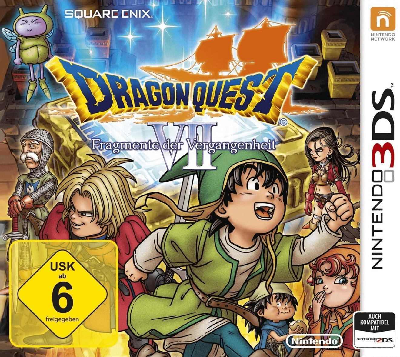 Dragon Quest VII: Fragmente der Vergangenheit (3DS) für 14,99€ (Amazon Prime & GameStop)