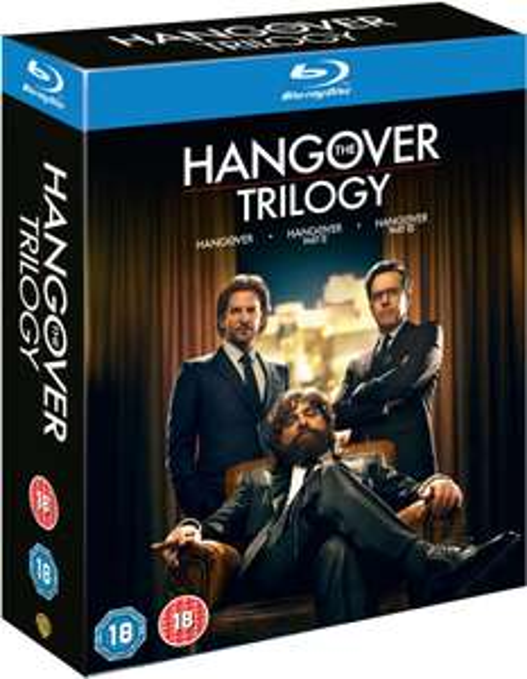Hangover Trilogy (Blu-ray) für 8,40€ inkl. Versand