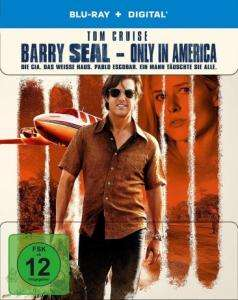 Barry Seal - Only in America Limited Steelbook Edition (Blu-ray + UV Copy) für 9,98€ (Media-Dealer)