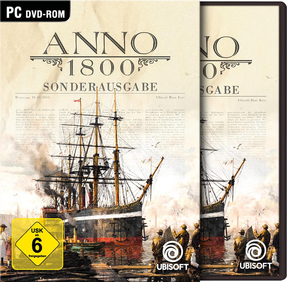 [Offline] Anno 1800 Sonderausgabe (DVD+Download) bei Müller Drogerie