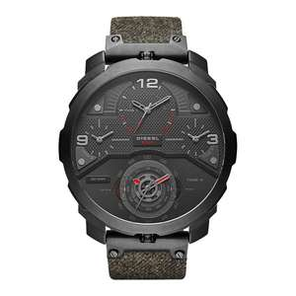 Diesel Machinus (DZ7358) für nur 109,99€ inkl Versand - Oversize Armbanduhr mit 4 Zeitzonen