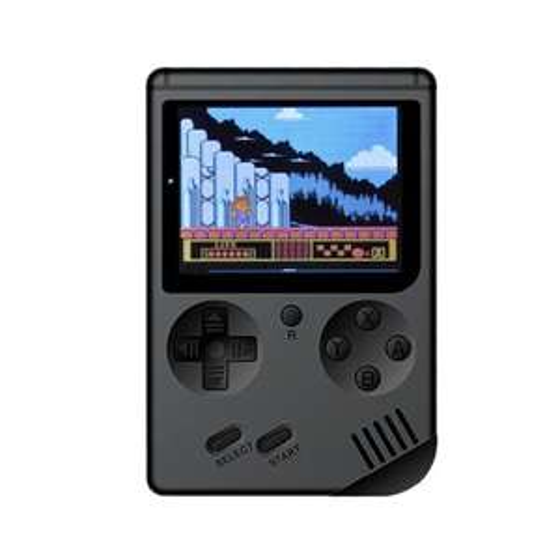 Retro Portable Mini Handheld Game Console 8-Bit 3.0 Inch Color LCD / 168 games