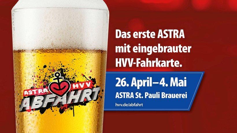 [LOKAL Hamburg] kostenlose HVV Fahrtkarte zum Astra Bier