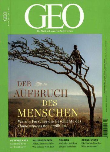 GEO Abo (3 Ausgaben) für 25,20 € mit 25,00 € Amazon-Gutschein