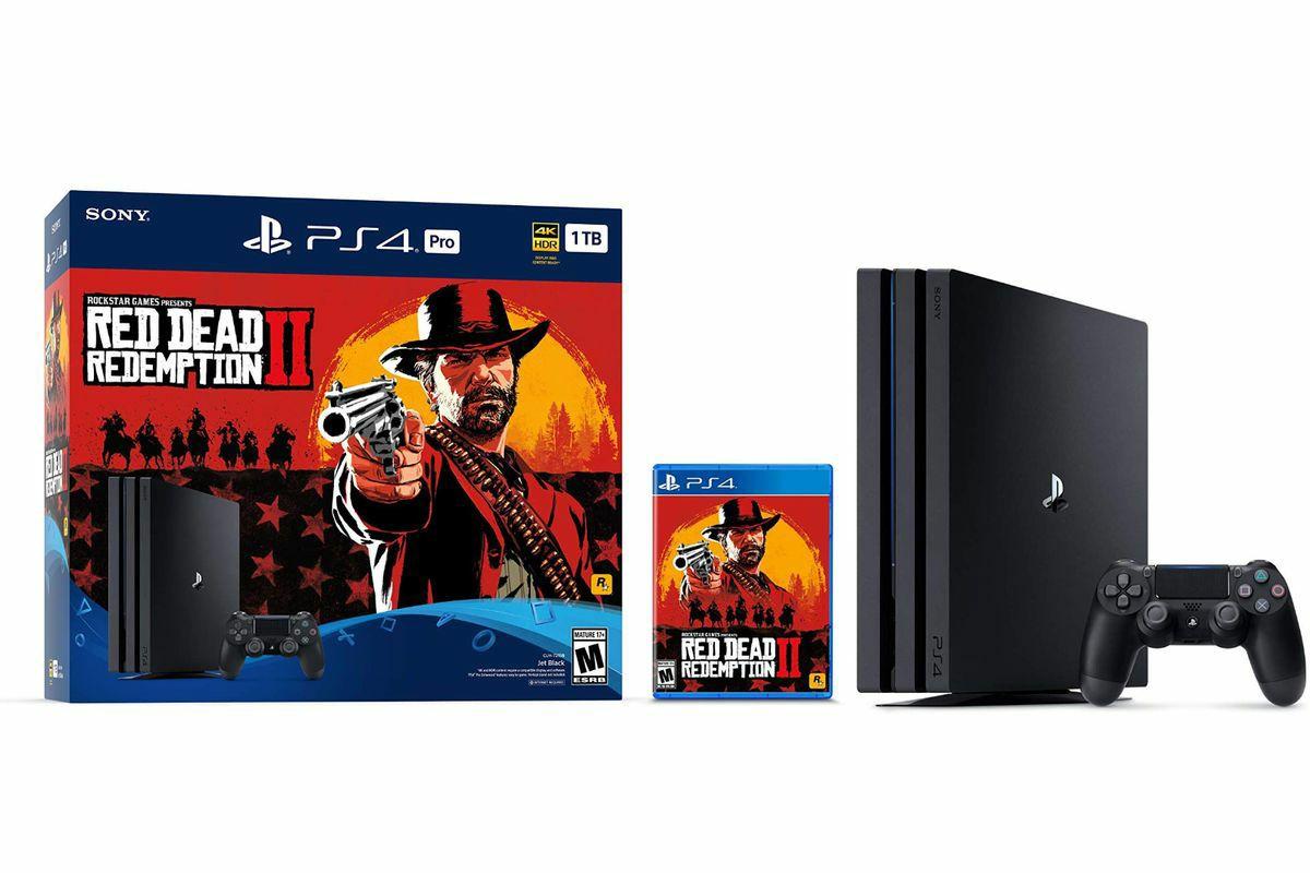 PS4 Pro und Red Dead Redemption 2 Bundle