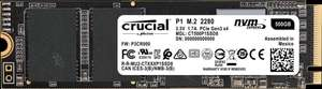 Speicherangebote: z.B. Crucial P1 M.2 500GB - 59€ | Kingston SSDNow A400 960GB - 88€ | SanDisk Extreme PRO USB-Stick 256GB - 49€