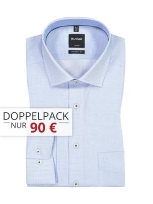 2er Pack Olymp Herren Hemden ab 80€ (statt 95€)