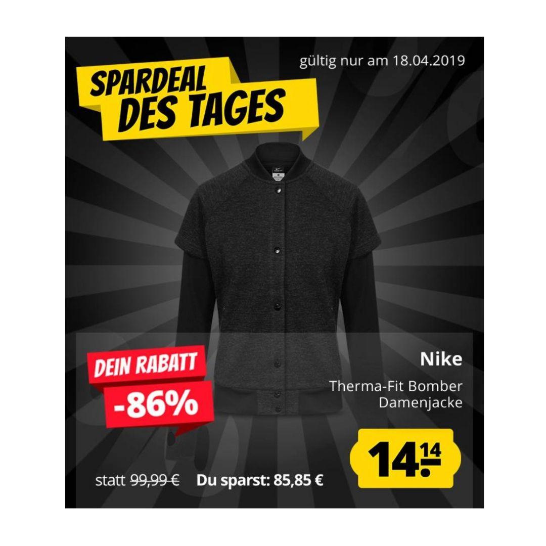 Nike Therma-Fit Sphere Bomber Jacket Damen Bomberjackefür 18,09€ (statt 30€)