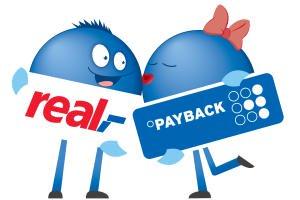 1.000 Payback Punkte ab 100€ Einkauf vom 09.05. bis 11.05. in den real Märkten