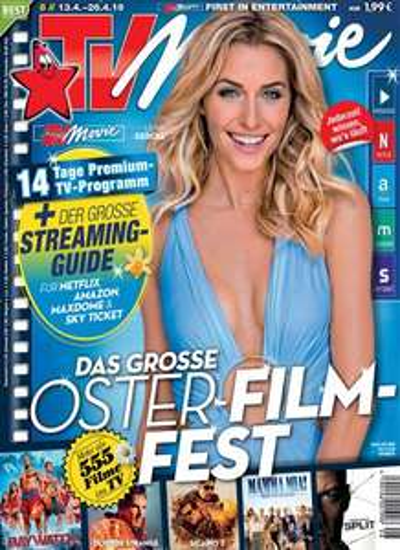 TV Movie Abo (28 Ausgaben) für 54,14 € mit 50 € BestChoice- oder Amazon-Gutschein + 40 °P