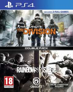 Tom Clancy's The Division + Tom Clancy's Rainbow Six: Siege Double Pack (PS4) für 16,85€ (ShopTo)