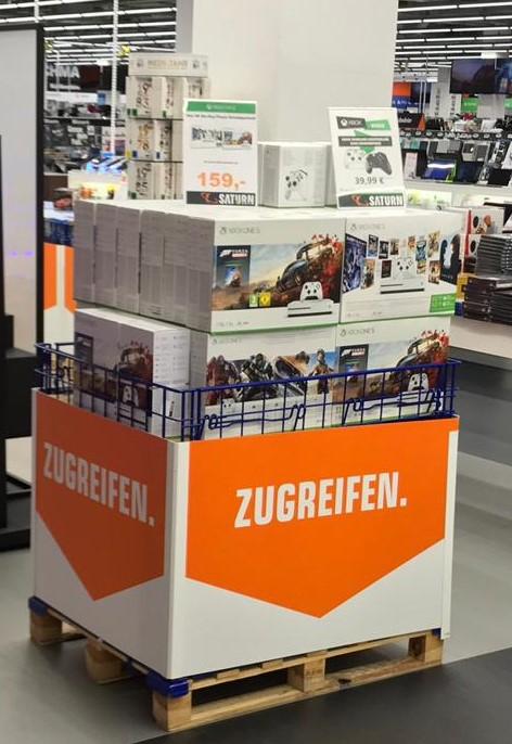 [ Lokal Saturn Braunschweig ] XBOX One S 1TB incl. Forza H4