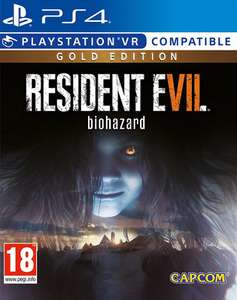 Resident Evil 7 Gold Edition (PS4 & Xbox One) für 22,95€ (Shopto)