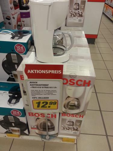 [Lokal Hamburg] Kaffeemaschine Bosch TKA1410V - für 12,99€ (Idealo 21,-€ + VSK)