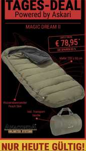 Askari Tages-Deal Schlafsack Sänger Anaconda Magic Dream II