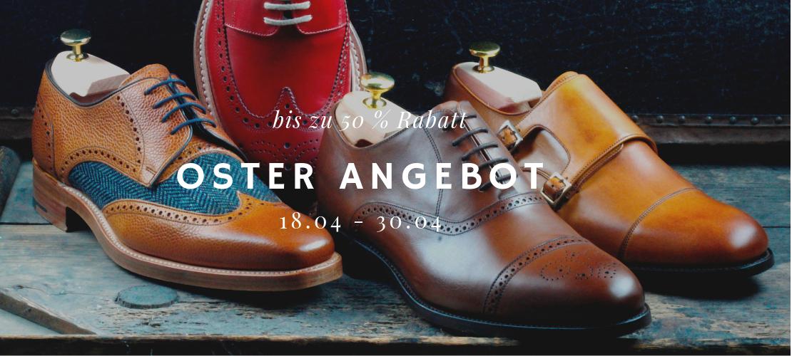 Langer & Messmer - Herrenschuhe der Marke BARKER – verschiedene Modell – Sale bis zu 50% Rabatt