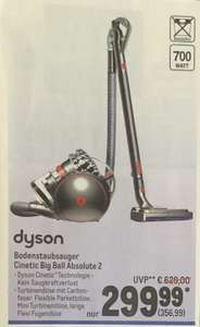 (Offline-Deal) Dyson Bodenstaubsauger Cinetic Big Ball Absolute 2