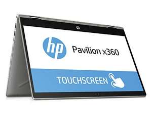 "HP Pavilion x360 14-cd1003ng 2in1 Convertible - 14"" FHD IPS Touch, i5-8265U, 8GB RAM, 256GB SSD, Fingerprint, 1,6 kg, Win 10 für 646,13€"