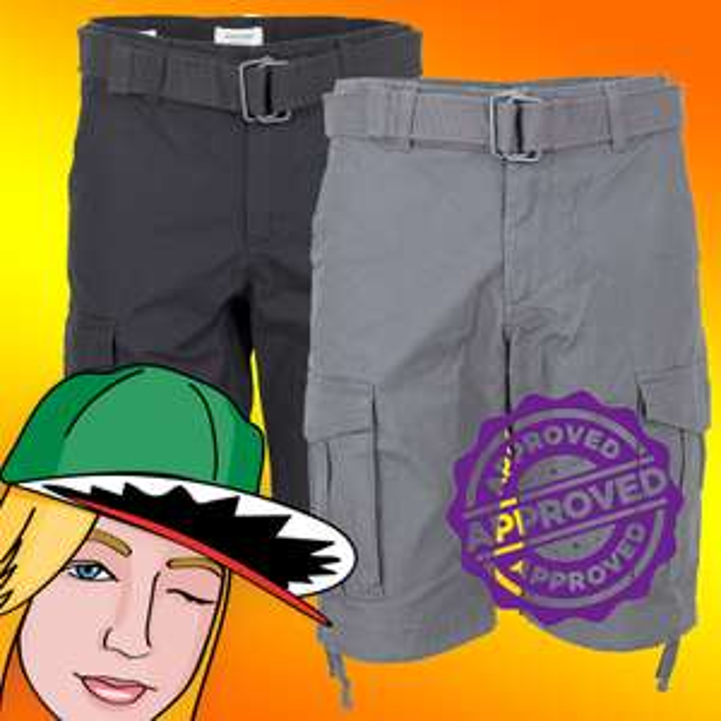 Jack & Jones Cargo Shorts Doppelpack (vier Farben zur Auswahl, Größen S-XXL)