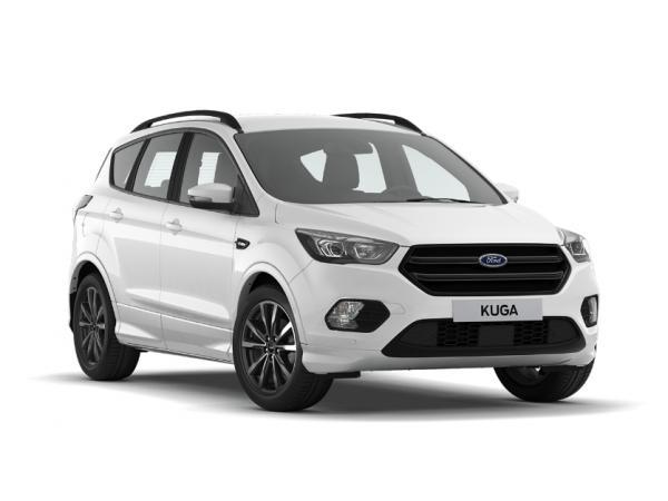 [Privat- und Gewerbeleasing] Ford Kuga ST-Line Automatik (150 PS) mit Ganzjahresreifen für 188€ (brutto) im Monat für 48 Monate, LF 0,527