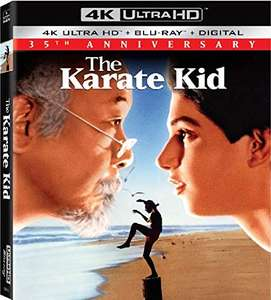 Karate Kid (1984) 4K - 35th Anniversary Edition (4K UHD + Blu-ray + Digital Copy)