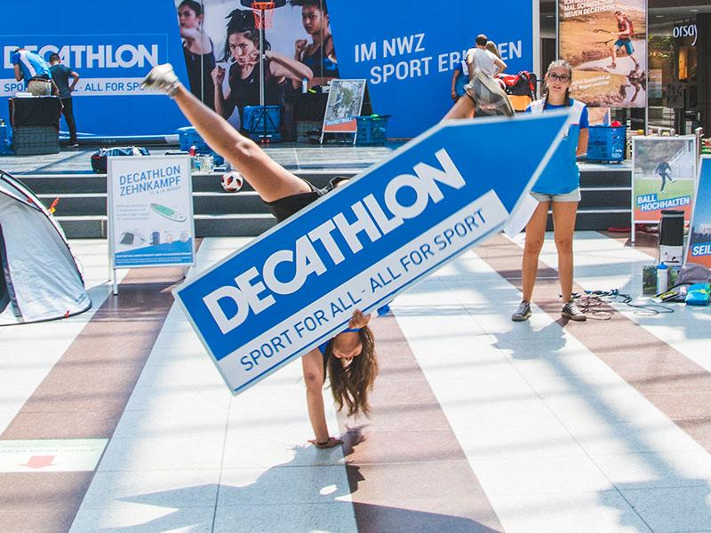 [Lokal Fürth] 10 € Gutschein ab 25 € Einkaufswert bei Decathlon