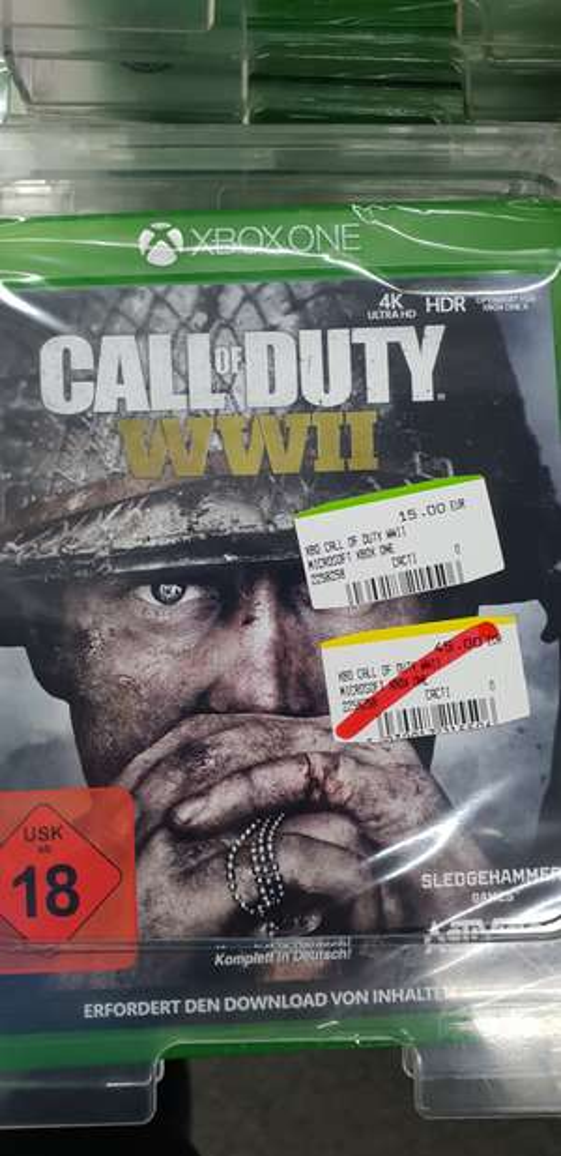 [Media Markt Berlin Schöneweide] XBox One - Call of Duty  WWII