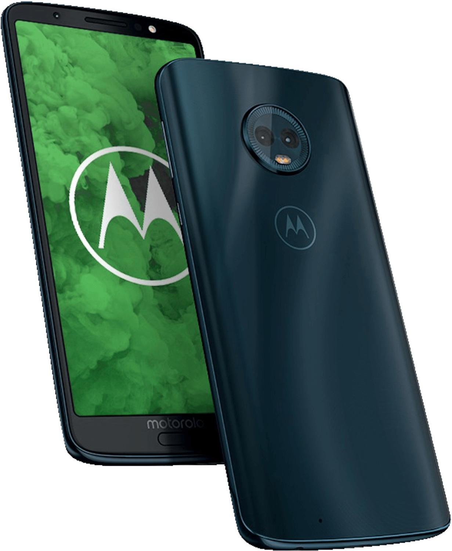 [Mediamarkt/Saturn] MOTOROLA Moto g6 plus, Smartphone, 64 GB, Deep Indigo, Dual SIM für 179€ oder 164€ mit Masterpass
