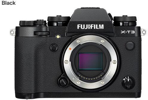 Fujifilm X-T3 Systemkamera schwarz / wie neu - Amazon Wearhouse Deal