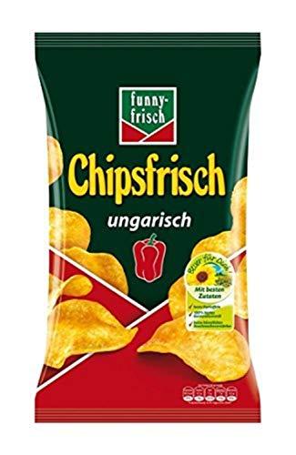 funny-frisch Chipsfrisch ungarisch, 10er Pack (10 x 175 g) (Amazon Prime)