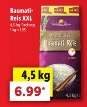 Fitness-Supermarkt-Sammeldeal (KW17): z.B. 4,5kg Basmati-Reis für 6,99€ bei Lidl oder 500g Buitoni Integrale für 0,59€ bei Kaufland