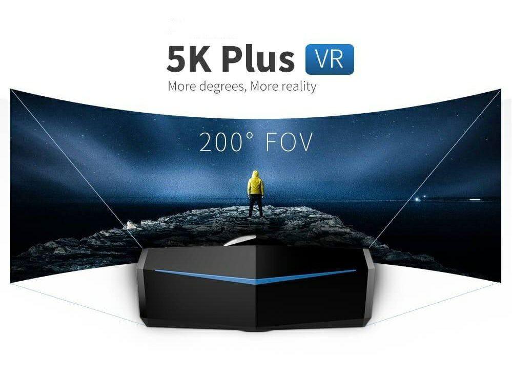 Pimax 5k+ VR Headset mit Lighthouse-Tracking 599$ statt 699$ zuzüglich ca. 30$ Versand (z. B. Als Upgrade für HTC Vive oder Vive Pro)