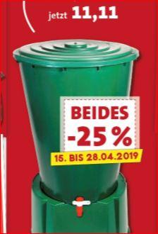 200 Liter Regentonne mit Deckel und Ablaufhahn für 11,11 Euro [Thomas Philipps]