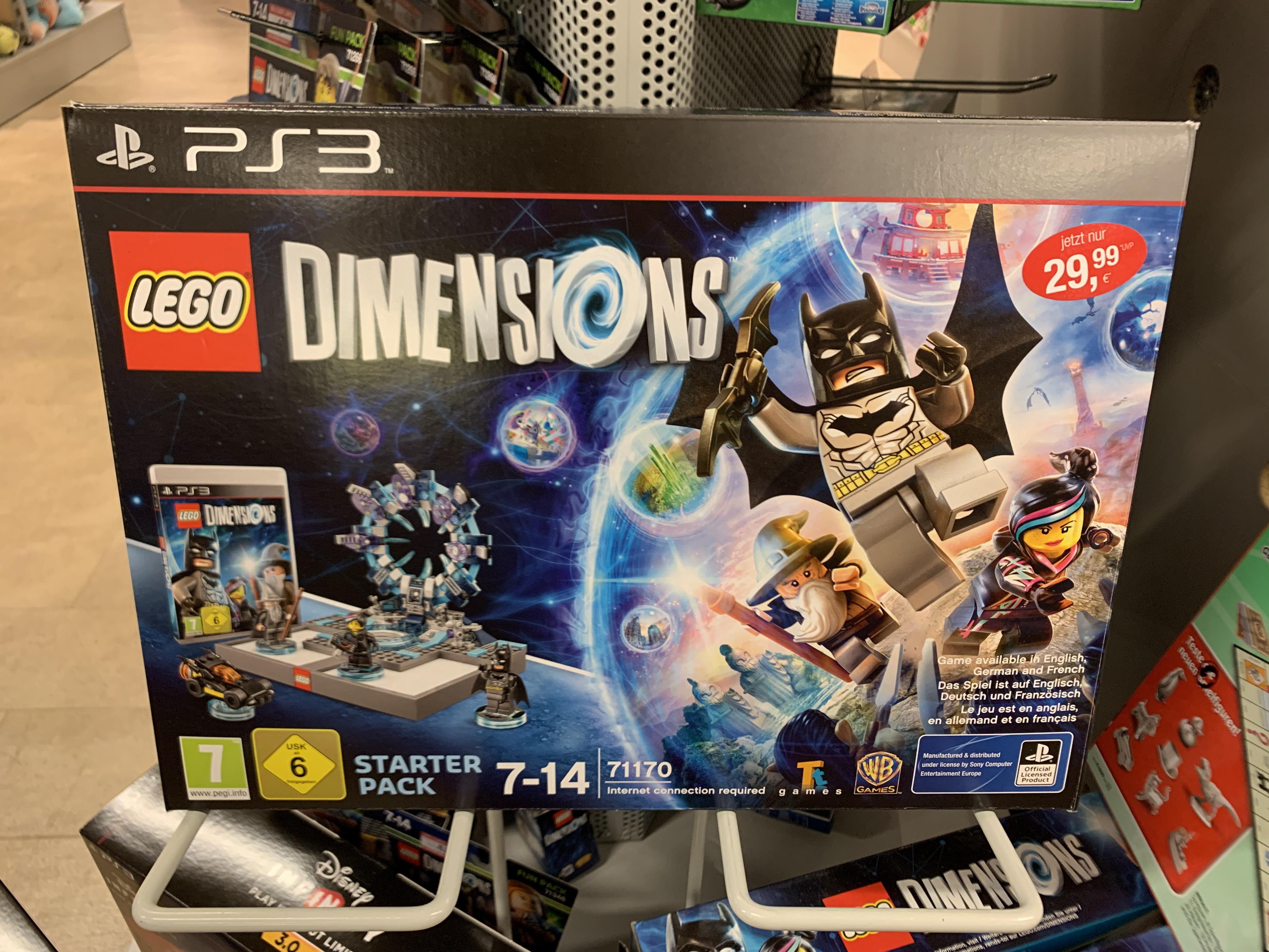 [lokal Globus Lahnstein] LEGO Dimensions Starter Pack 71170j