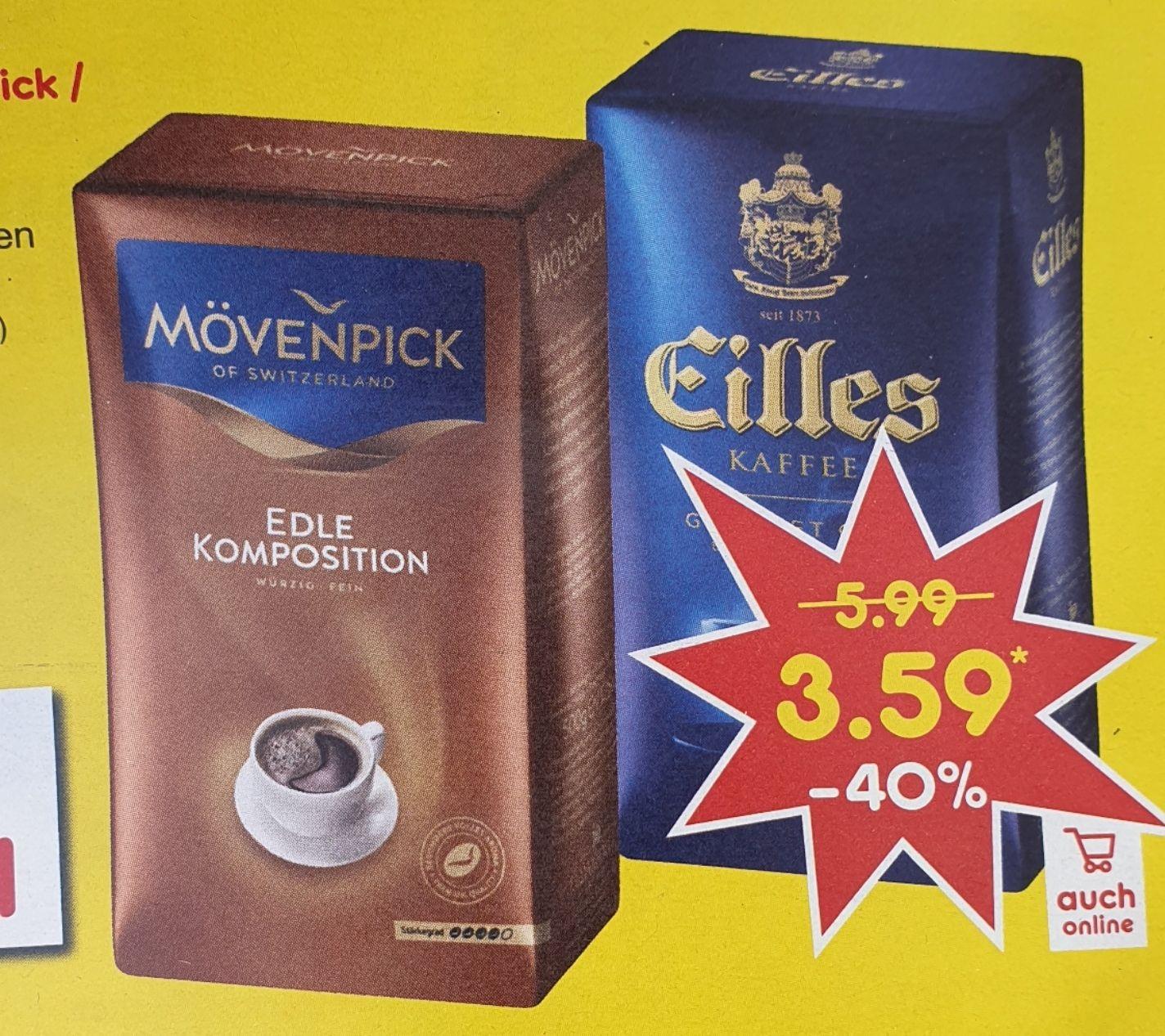[Netto] Mövenpick / Eilles Kaffee gemahlen 500g