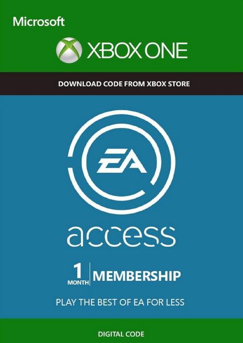 1 Monat EA Access (Xbox One) für 1,79€ (CDkeys)
