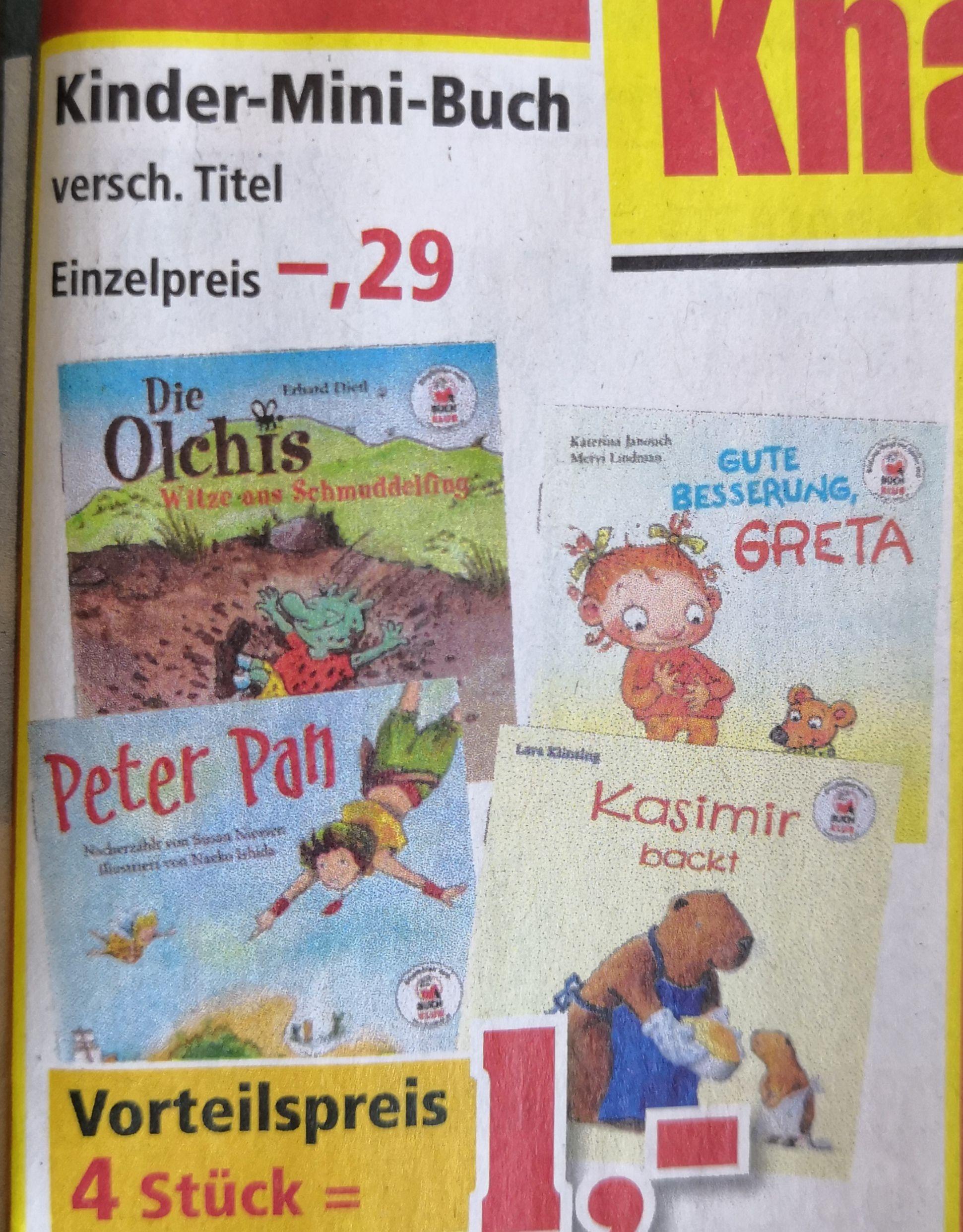 Philipps Sonderposten - Diverse Minibücher für Kinder