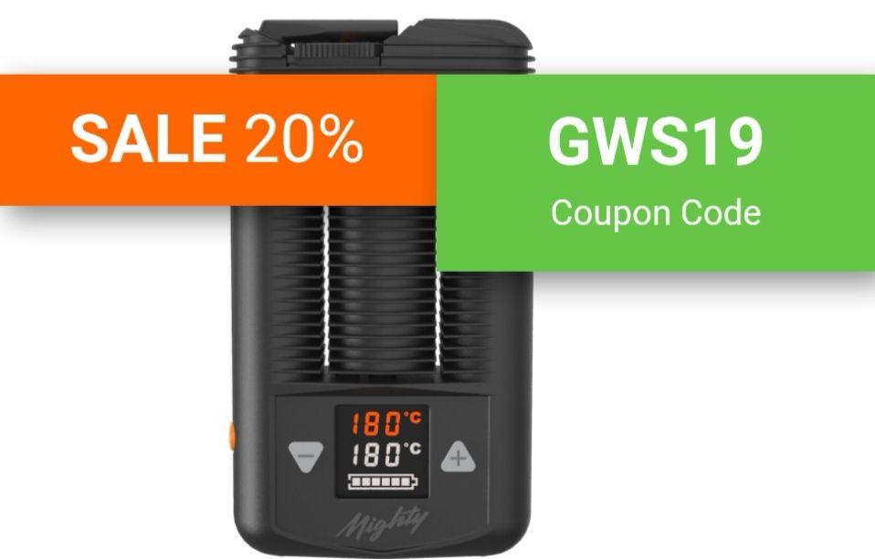Vaporizer Storz & Bickel SALE 20%, macht 2% beim Mighty auf den nächst besten Preis, Crafty, Plenty, Vulcano