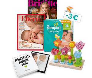 [Pampers Club] Gratis Pampers Pants + 3€ Coupon