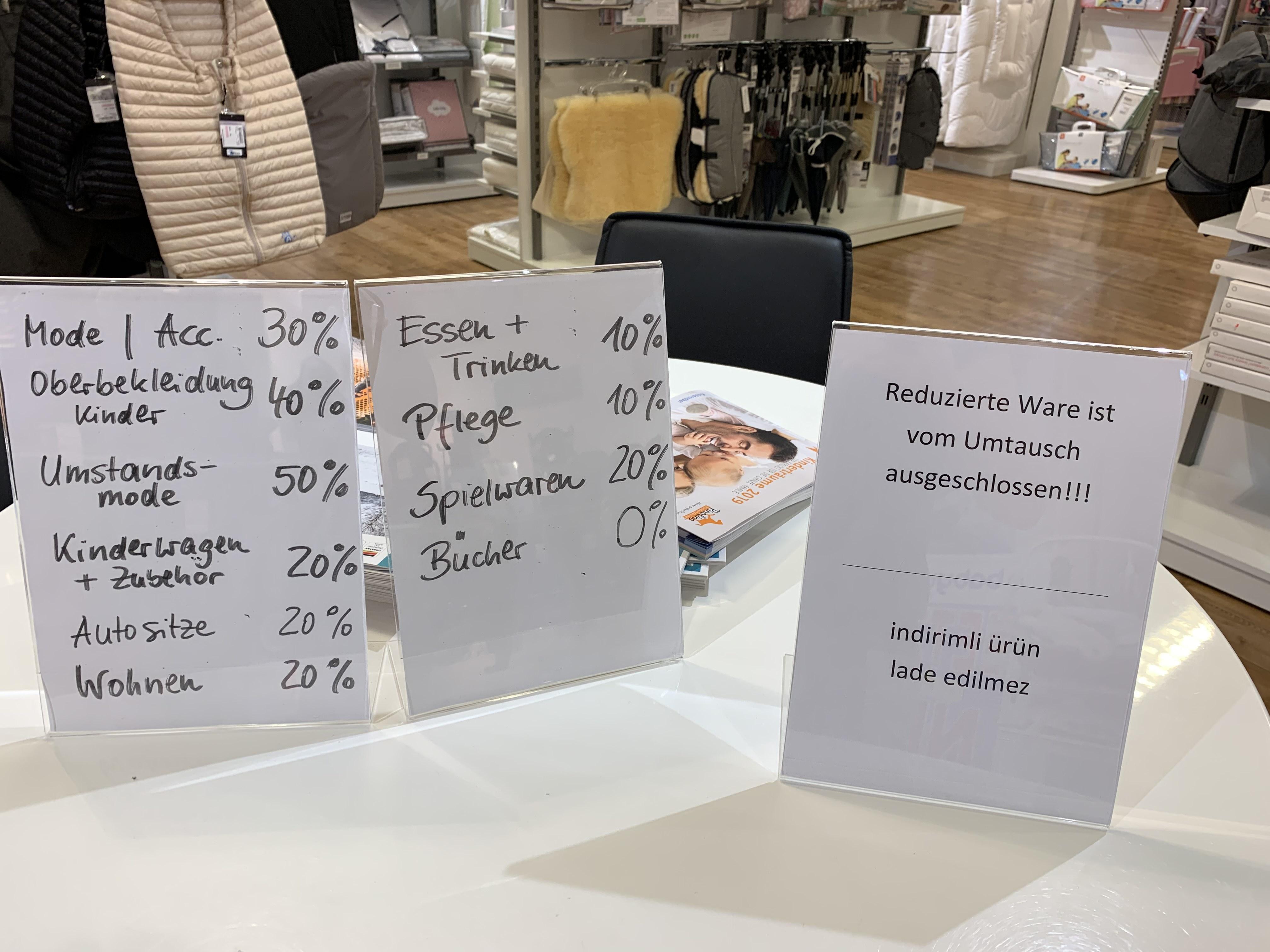 [lokal Berlin Spandau] Räumungsverkauf bei Babywalz